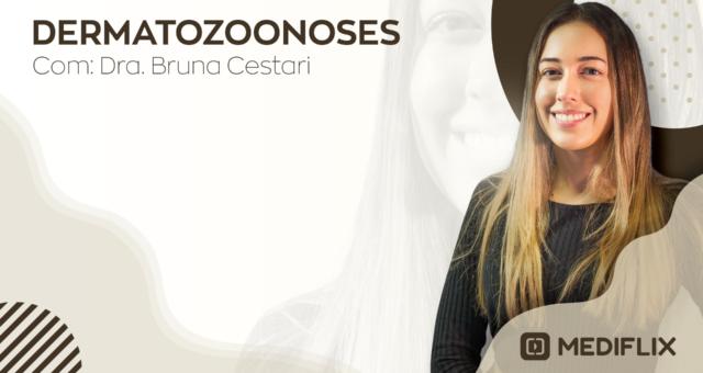 banner Dermatozoonoses Dra. Bruna Cestari